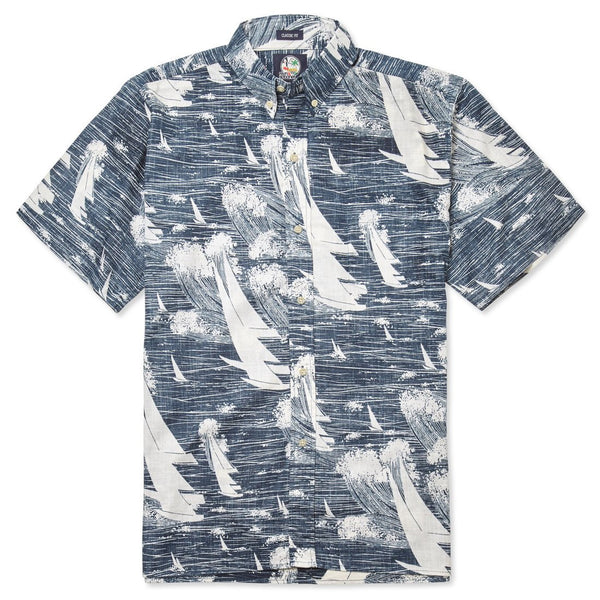 reyn spooner Kona Winds Men's Hawaiian Shirt (Classic Fit)