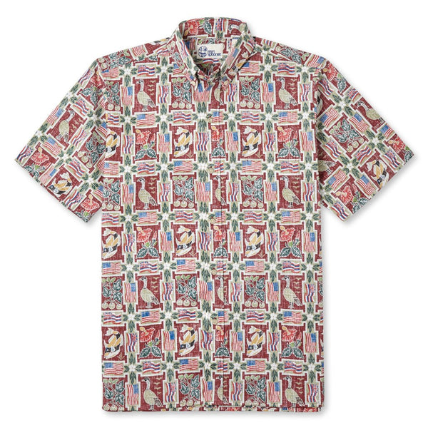 reyn spooner Summer commemorative 2017 Hawaiian Shirt (Classic Fit)