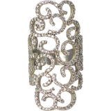 Designs by Eric Big Monogram Fancy Ring - The Passionate Collector