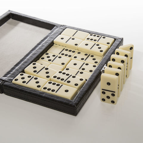 Brouk & Co. Line'Em Up Domino Set