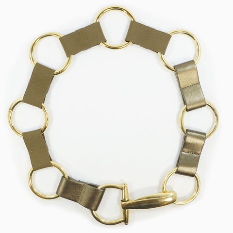Suzi Roher Circle Link Belt - The Passionate Collector