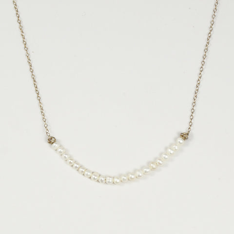 Triesi Sterling Silver Chain with Beads