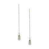 Debra Shepard Sterling Silver Pearl Expressions Threader Earrings