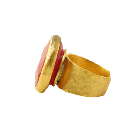Calinana Jade Adjustable Ring