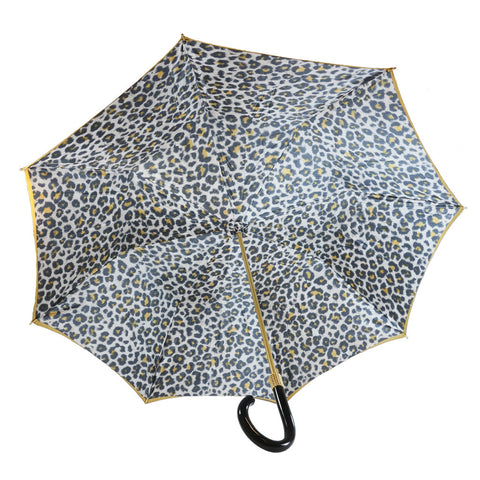Pasotti Double  Olive Green and Tan Umbrella