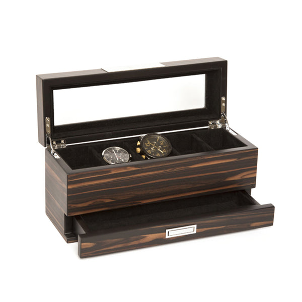 Brouk & Co. 5-Slot Watch Holder/Jewelry Tray