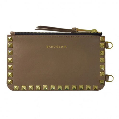Bandolier The Pouch - Sarah Black or Sarah Taupe - The Passionate Collector