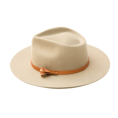 Yellow108 Dylan Fedora Putty w/ Wildwood Flower