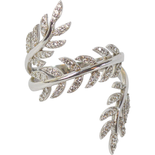 Designs by Eric Delicate Leaf Ring - The Passionate Collector