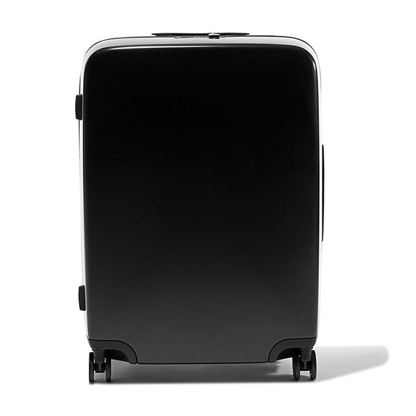 Black Raden A28 Check Suitcase