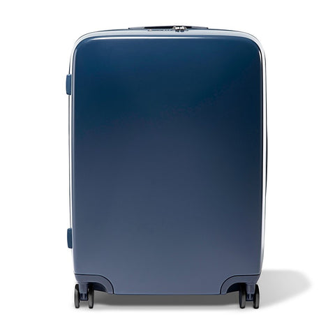 Navy Raden A28 Check Suitcase - The Passionate Collector