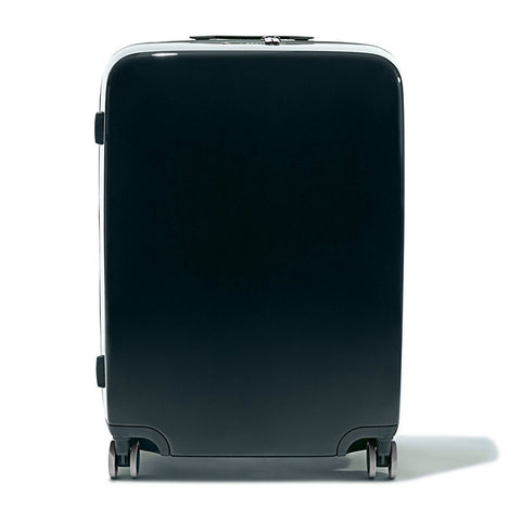 Navy Raden A28 Check Suitcase