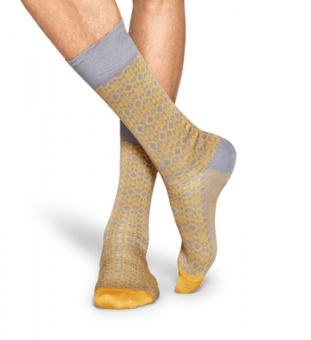 Happy Socks Men's Aztec Dress Socks - The Passionate Collector