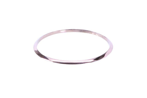 Azaara Shiny Smooth Bangle - The Passionate Collector