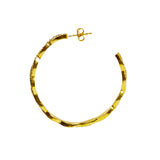 Azaara Intertwined hoop earring