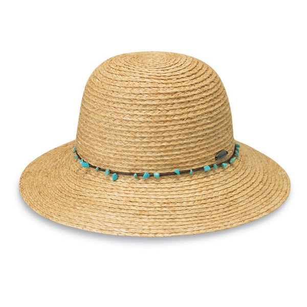 Wallaroo Blair Natural Turquoise Hat - The Passionate Collector