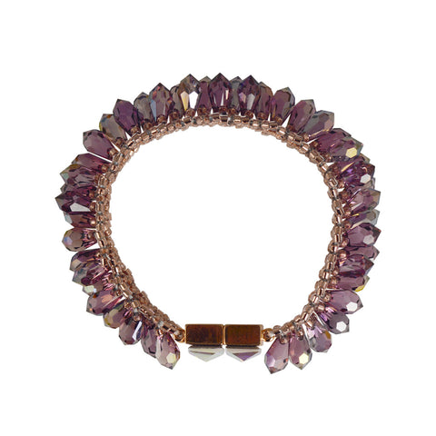 Mara Labell Amethyst Ablaze Bracelet - The Passionate Collector