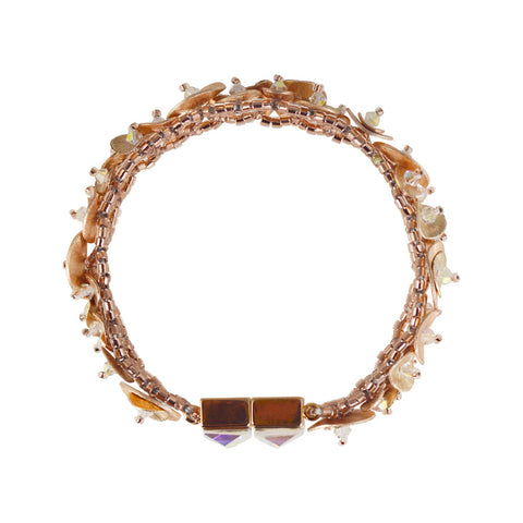 Fleur Bracelet - Rose Gold - The Passionate Collector