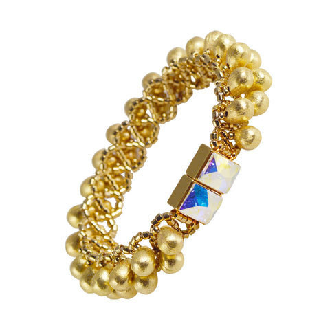 Brio Bracelet - Gold - The Passionate Collector