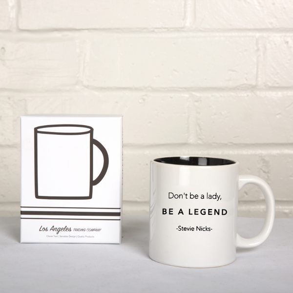 Los Angeles Trading Co. Be A Legend Coffee Mug - The Passionate Collector