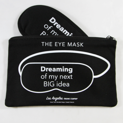 Los Angeles Trading Company Dreaming Big Idea Eye Mask - The Passionate Collector