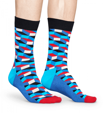 Happy Socks Filled Optic Sock - The Passionate Collector