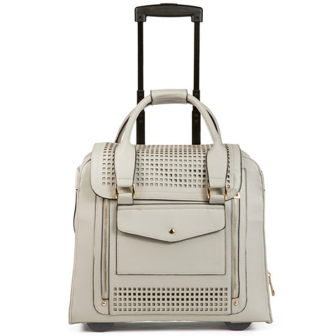 Hang Zadie Perforated Rolling Trolley Bag