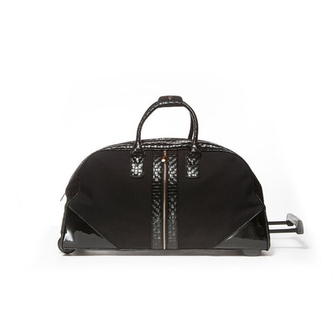 HANG Black Zippered Weekender