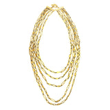 Karen Sultan 5 Row Nickel Free Necklace