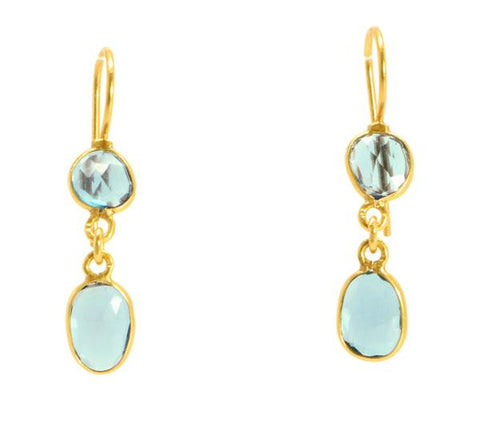Manjusha Double Drop Earrings