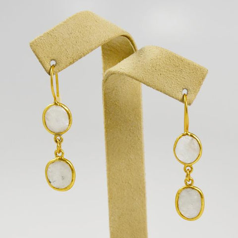Manjusha Double Drop Earrings - The Passionate Collector