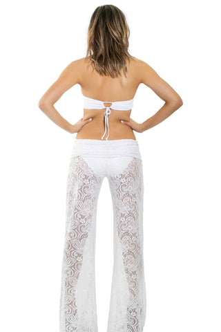 BeachCandy Martina Lace Poolside Pants