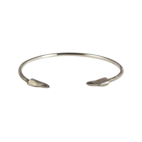 Double Claws Cuff Sterling Silver - The Passionate Collector