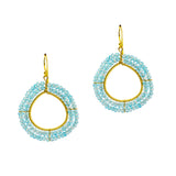 NuNu Designs New Double Glamour Earrings </br><i>(More colors available)</i>