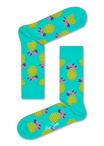 Happy Socks Pineapple - The Passionate Collector