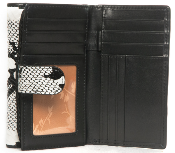 Bravo Python Print Leather Wallet
