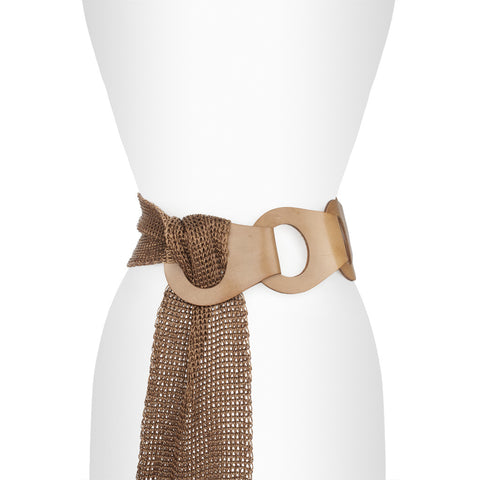 Suzi Roher 5 Leather Loop Belt - The Passionate Collector