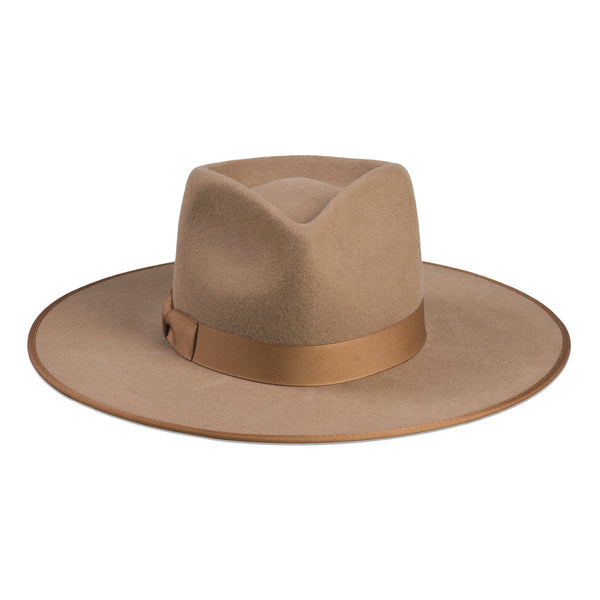 Lack of Color Teak Rancher Hat - Light Brown - The Passionate Collector