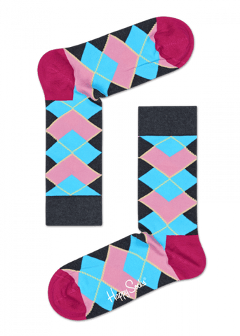 Happy Socks Iris Apfel Women's Argyle Sock - The Passionate Collector