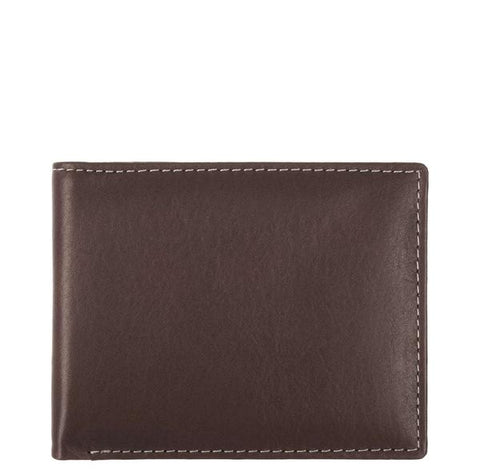 Stewart/Stand Leather Exterior Bill Fold Wallet - The Passionate Collector