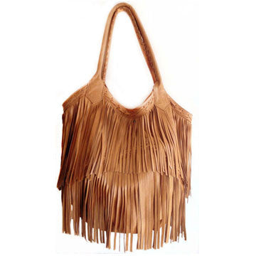 Large Tassel Shoulder Bag - The Passionate Collector
