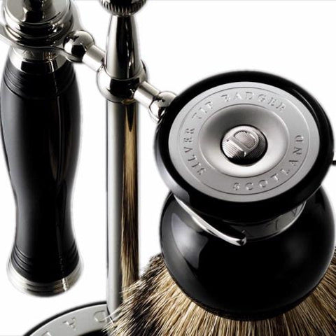 Dalvey  Shaving Set and Stand - The Passionate Collector