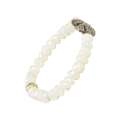 G2G Diamond Floral Bracelet with Silverite