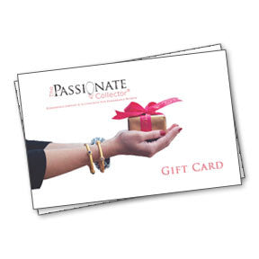 Purchase a Gift Card - The Passionate Collector