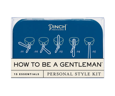 How to be a Gentleman Kit - The Passionate Collector