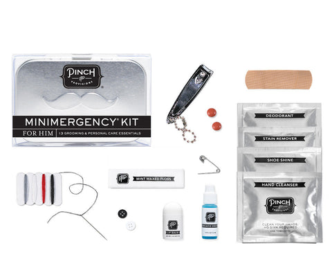 Minimergency Kit for Him Case - The Passionate Collector