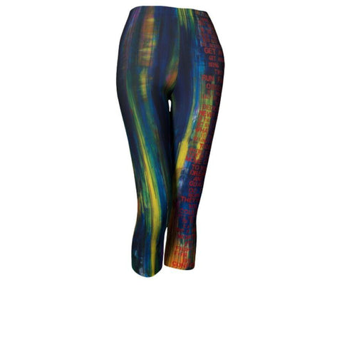 Rogawear Stay Motivated Capri Legging - The Passionate Collector