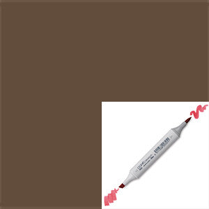 Copic Marker - E49 Dark Bark