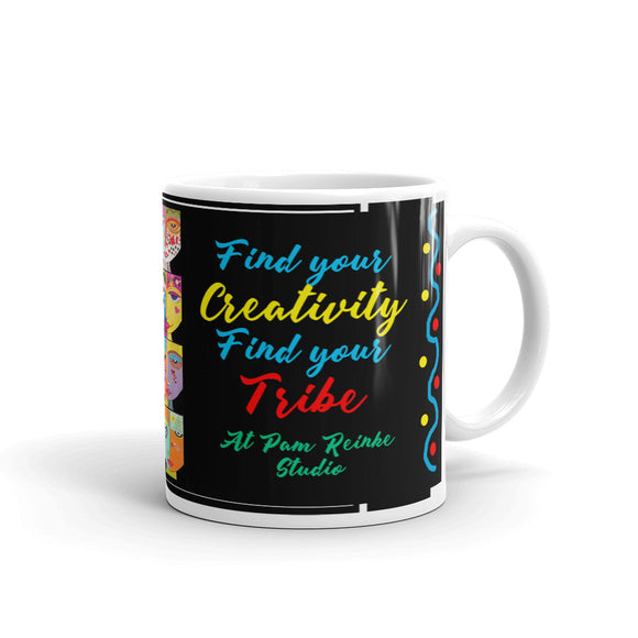 Find your Creativity, Find your Tribe Mug