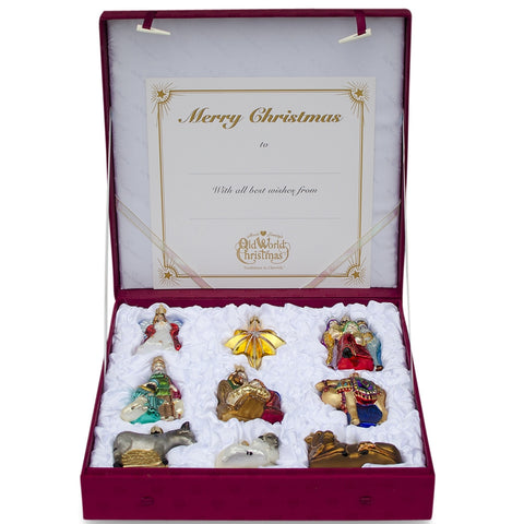 Old World Christmas 'Nativity' Ornament Collection